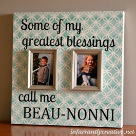 Mothers day frame with detachable frames great for changing out the picture