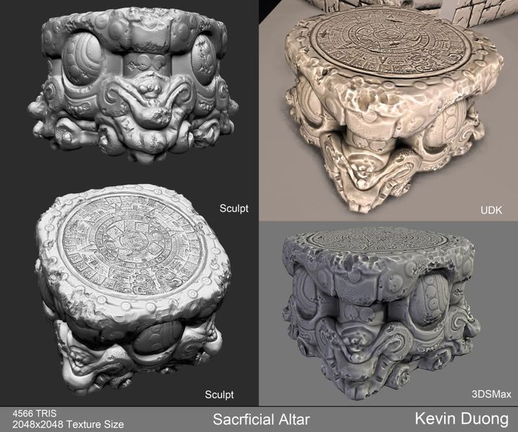 Mayan_Temple [UDK] - Polycount Forum