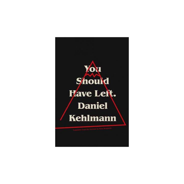 You Should Have Left (Hardcover) (Daniel Kehlmann)
