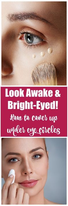 How to cover up under eye circles: It's no secret that one of the most prevalent issues when it comes to makeup is covering dark circles. No matter how much concealer you swipe under your eyes, it just can't take those ever-present dark circles away completely. However, with a few simple techniques and products, those pesky dark circles will disappear, and you'll look fresh and awake. #DarkCircles #Concealers #Makeup #Beauty