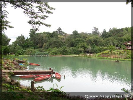 Boating lagoon at Mambukal Resort: Top tourist destination in Negros Occidental