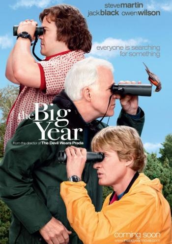 If you're a birder and haven't seen The Big Year yet, you really should! It's great!
