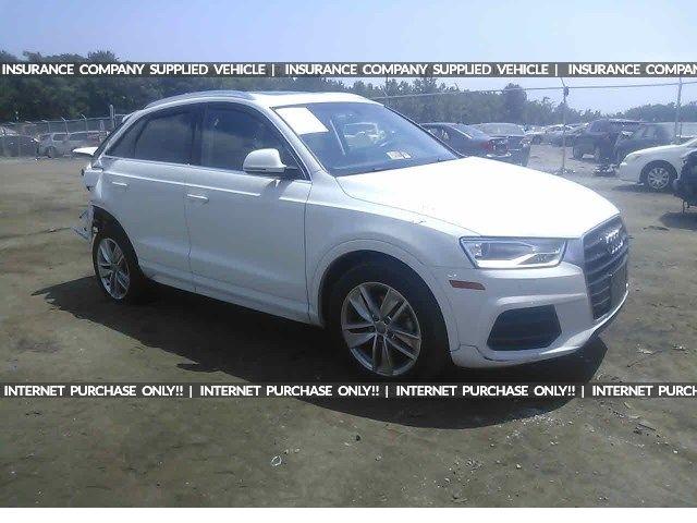 Salvage 2016 Audi Q3 Premium Plus Suv For Sale | Salvage Title