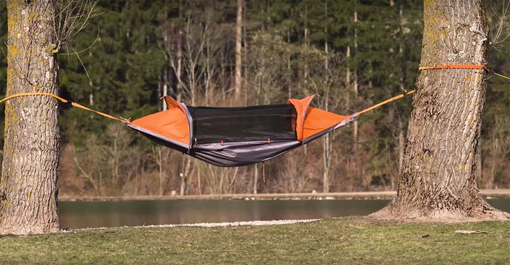 Voyagez léger grâce à cette tente ingénieuse qui se transforme en hamac et en…