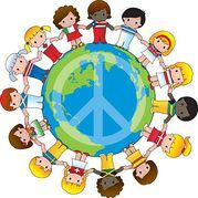 PEACE sign and PEACE text - Best-Selling Related Images for image k3961006