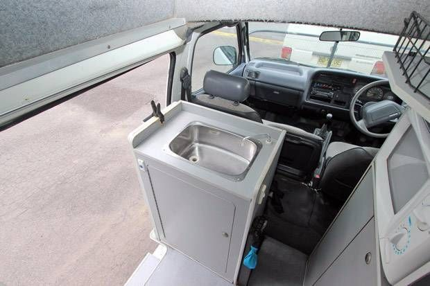 toyota hiace high roof camper 5778 for sale 6 - Caravans for sale – Used and new caravans