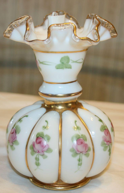 143 best fenton glass images on pinterest fenton glassware fenton charleton roses and gold vase reviewsmspy