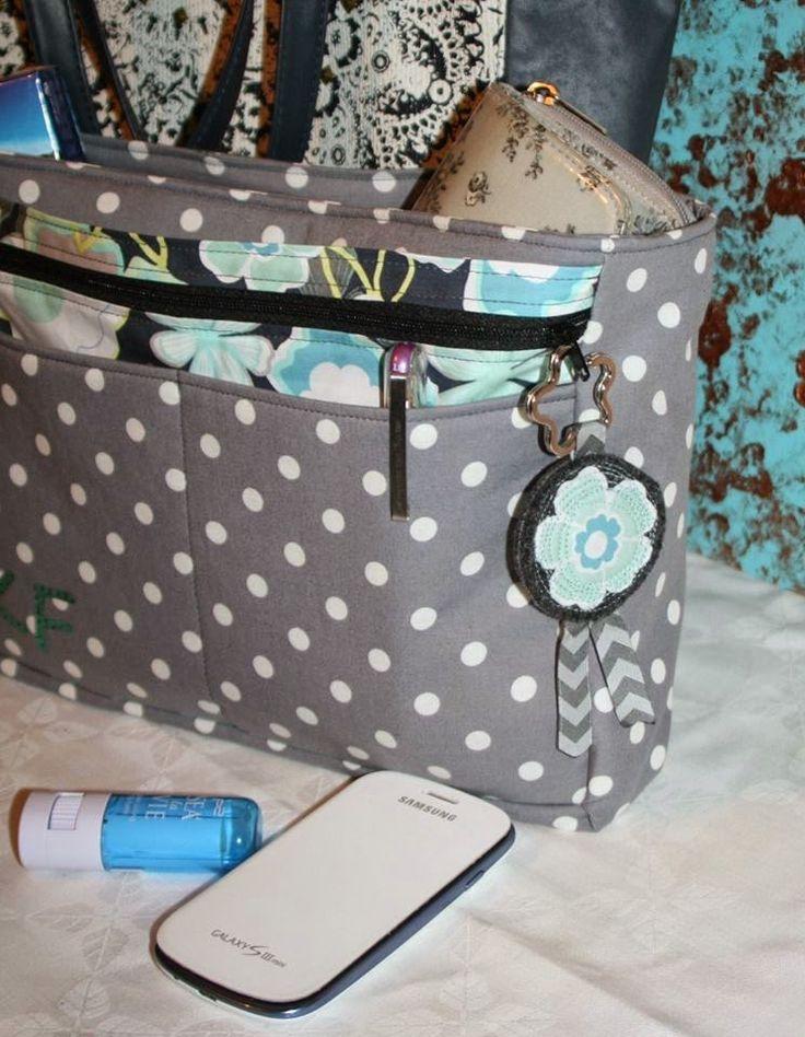 Textilrausch: Kalium - der Taschenorganisator