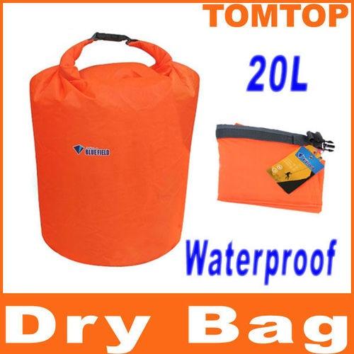 20L Water Resistant Waterproof Dry Bag Canoe Floating Boating Kayaking Camping