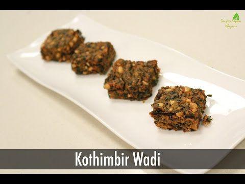 119 best veg snacks images on pinterest indian snacks indian kothimbir wadi maharashtrian snacks sanjeev kapoor khazana youtube forumfinder Choice Image