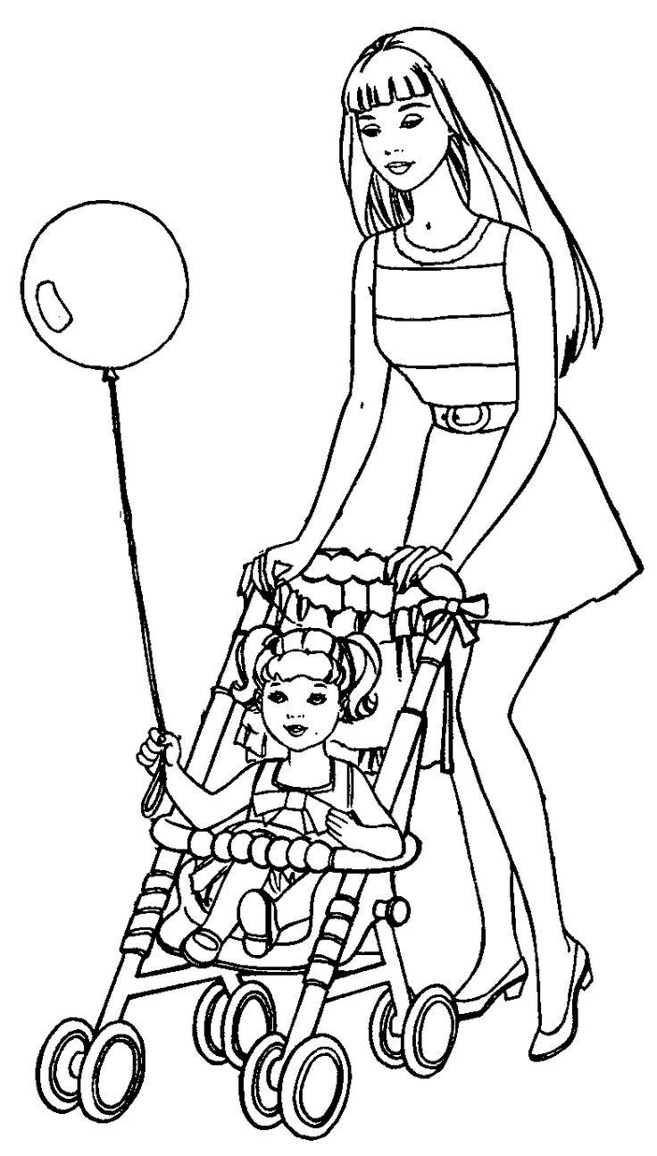 184 best barbie coloring pages images on pinterest barbie