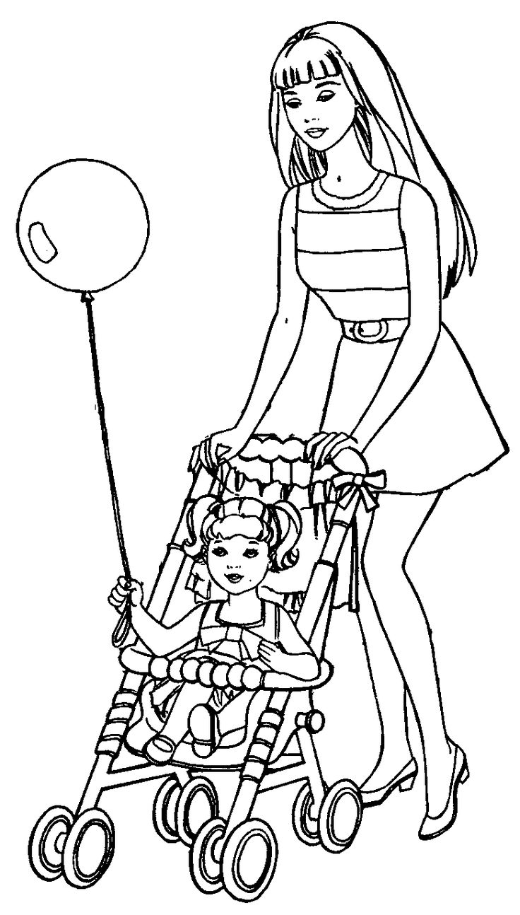 princess holly coloring pages : Barbie Coloring Pages Barbie Coloring Pages Barbie And Kelly Coloring Page