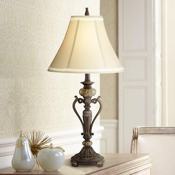 Leola Lane Brass Floor Lamp Floor Lamps Yellow Rooms To Go