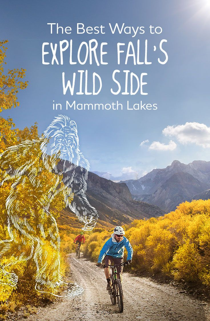 Fall Goes All Out In Mammoth Lakes Hike Bike Paddle Climb