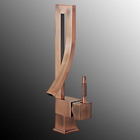 Antique Copper Modern Brass Wet Bar Vessel Sink Faucet