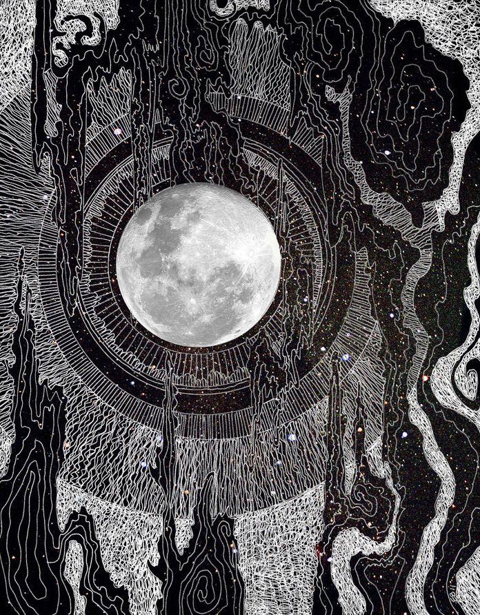 """""""Moon Glows"""" Artist : Brenda Erickson"""