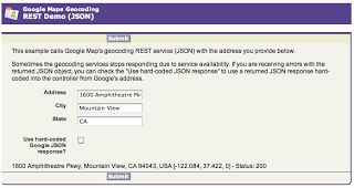 Calling a REST Web Service (JSON) with Apex