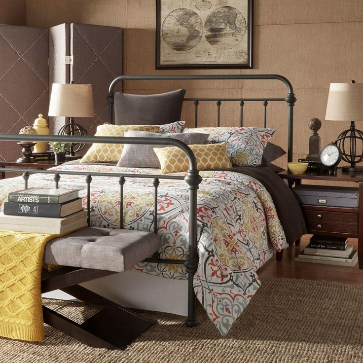 The 25 Best Standard Queen Size Bed Ideas On Pinterest Standard King Size Bed King Size