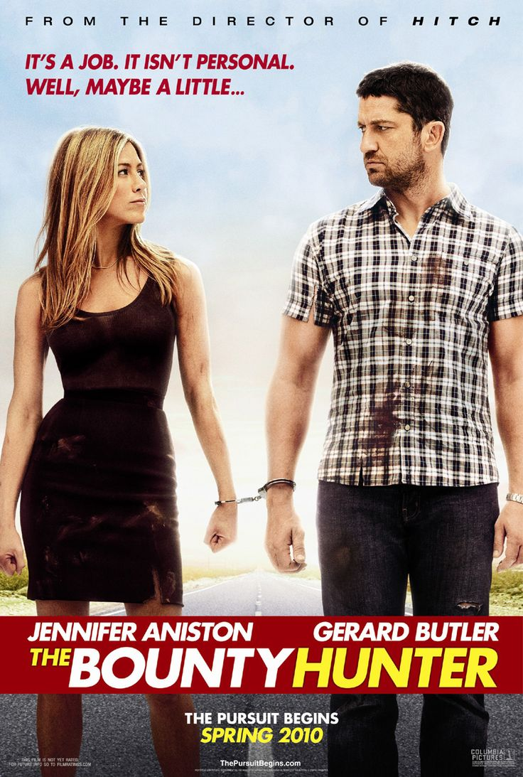 The Bounty Hunter is an action-romantic comedy film directed by Andy Tennant, starring Jennifer Aniston and Gerard Butler. Description from dramabean.net. I searched for this on bing.com/images