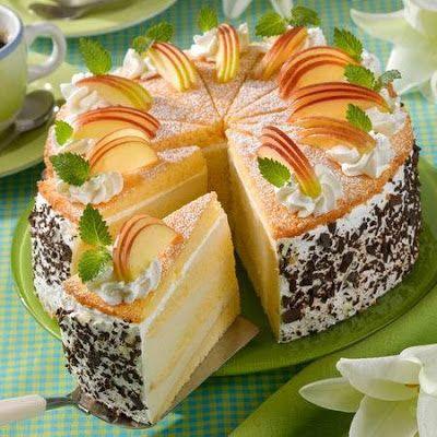Receptek, és hasznos cikkek oldala: Réteges túrós almatorta