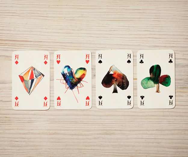 Playing cards as event invitations!