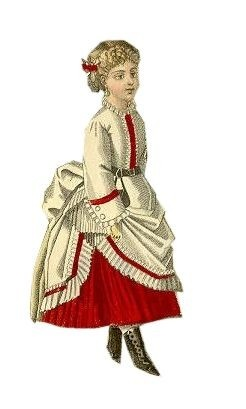 1870 - Pictures of C19th Children's Fashions By Pauline Weston Thomas for Fashion-Era.com