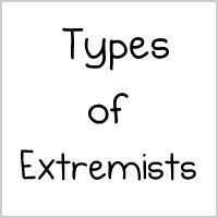 Types of Extremists - The Oatmeal  That third one sounds just like these guys that used to live in my college dorm...