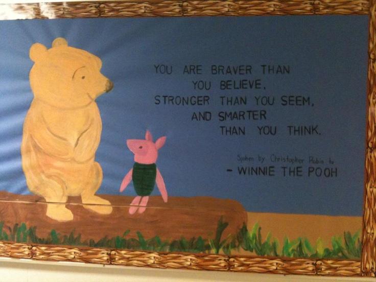Winnie The Pooh Bulletin Board Mural
