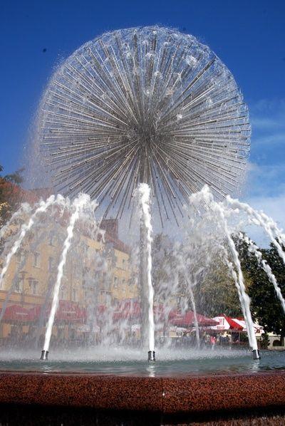 Tychy  - fontanna