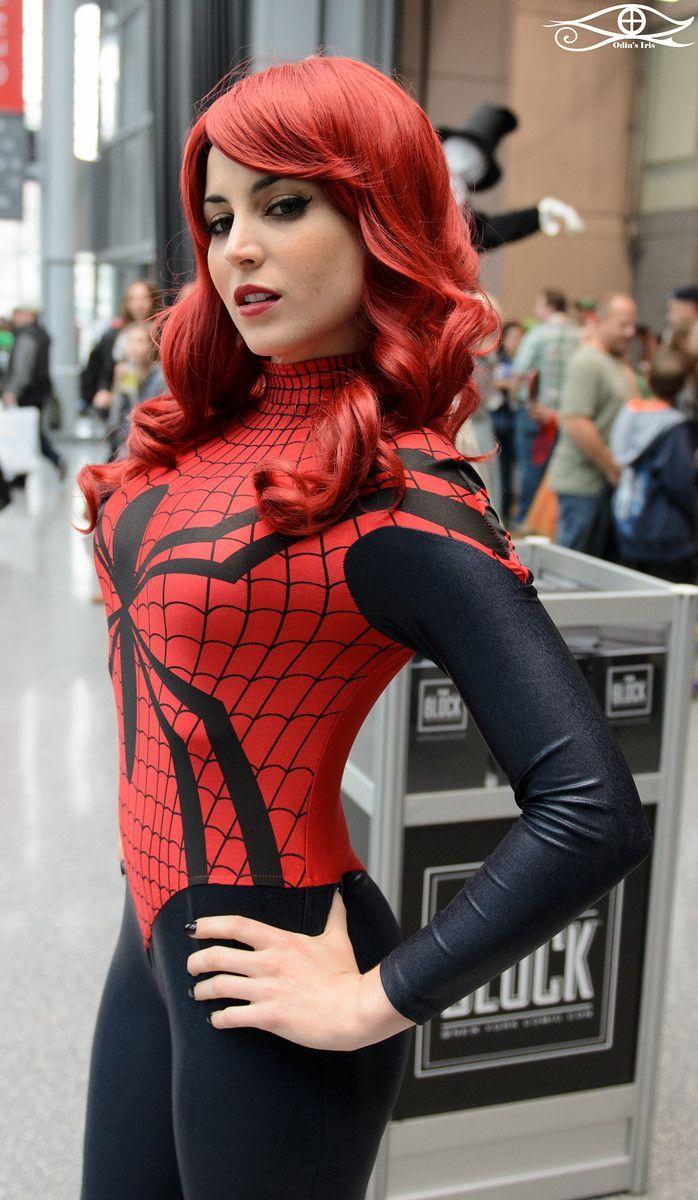 Cosplay spider girl sex-3143