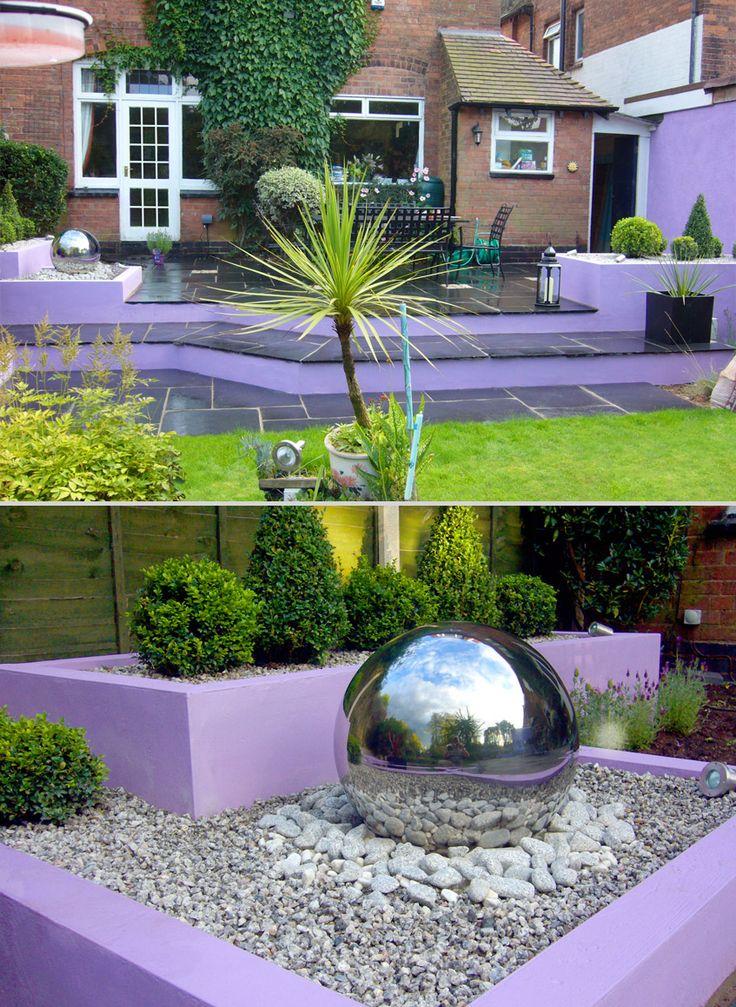 57 best garden design angles rectangles squares for Sphere garden design