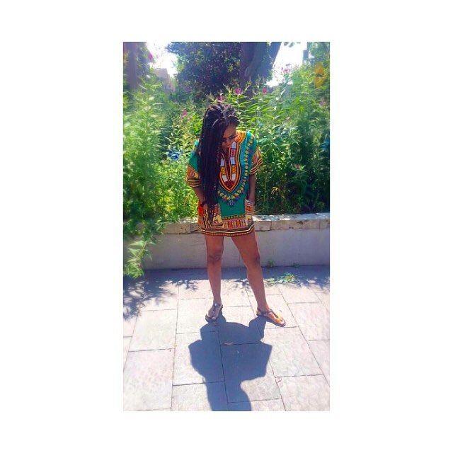 'Bana 2016 wearing my @kalonkreations dashiki
