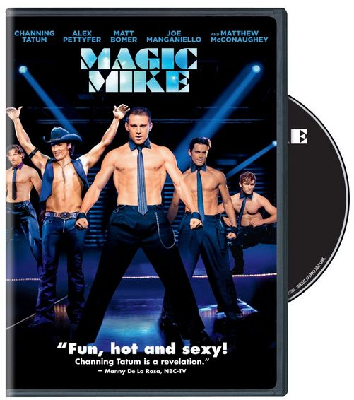Magic Mike on DVD - WIN 1 of 7 DVD's at the Magic Mike Viewing Twitter Party!  10/19 8pm EST #MagicMIke