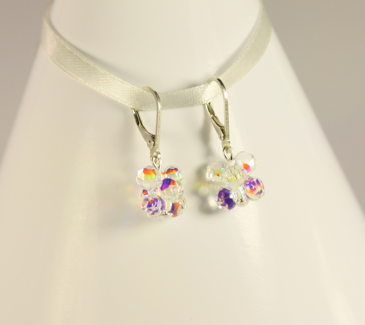 beautiful swarovski earrings...by Amethy