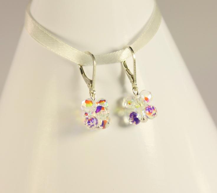 beautiful swarovski earrings...by Amethy