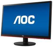 """AOC - 21.5"""" LED HD Monitor - Black"""