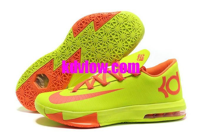 Nike Zoom KD 6 Volt Orange Discount Shoes store sell the cheap Nike KD VI  online, it is high quality Nike KD VI sneakers and we offer it with fast  shipping ...