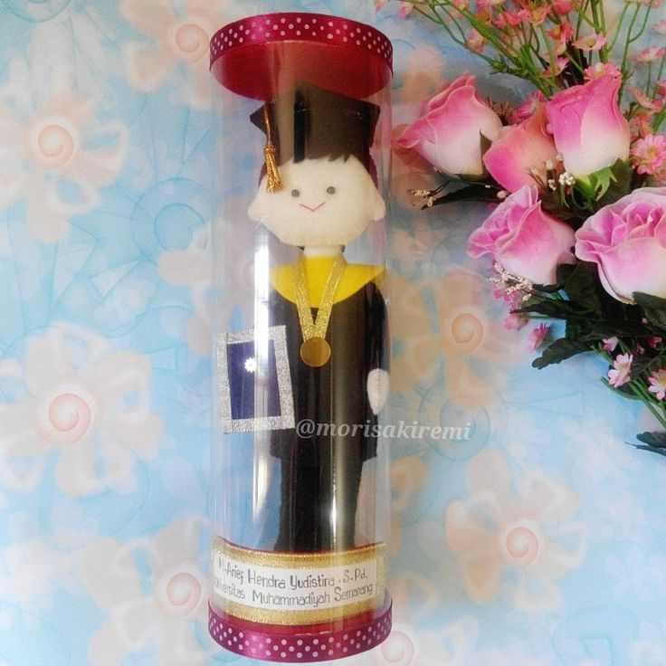 graduation doll  25cm $25 Muhammadiyah Semarang University, Indonesia