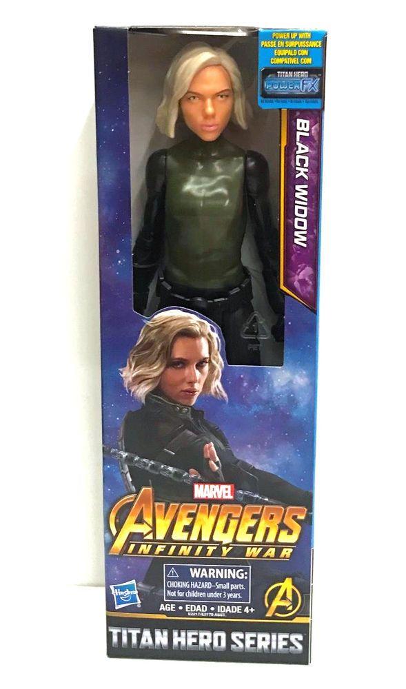 Black Widow Marvel The Avengers Infinity War Action Figure Model Toy
