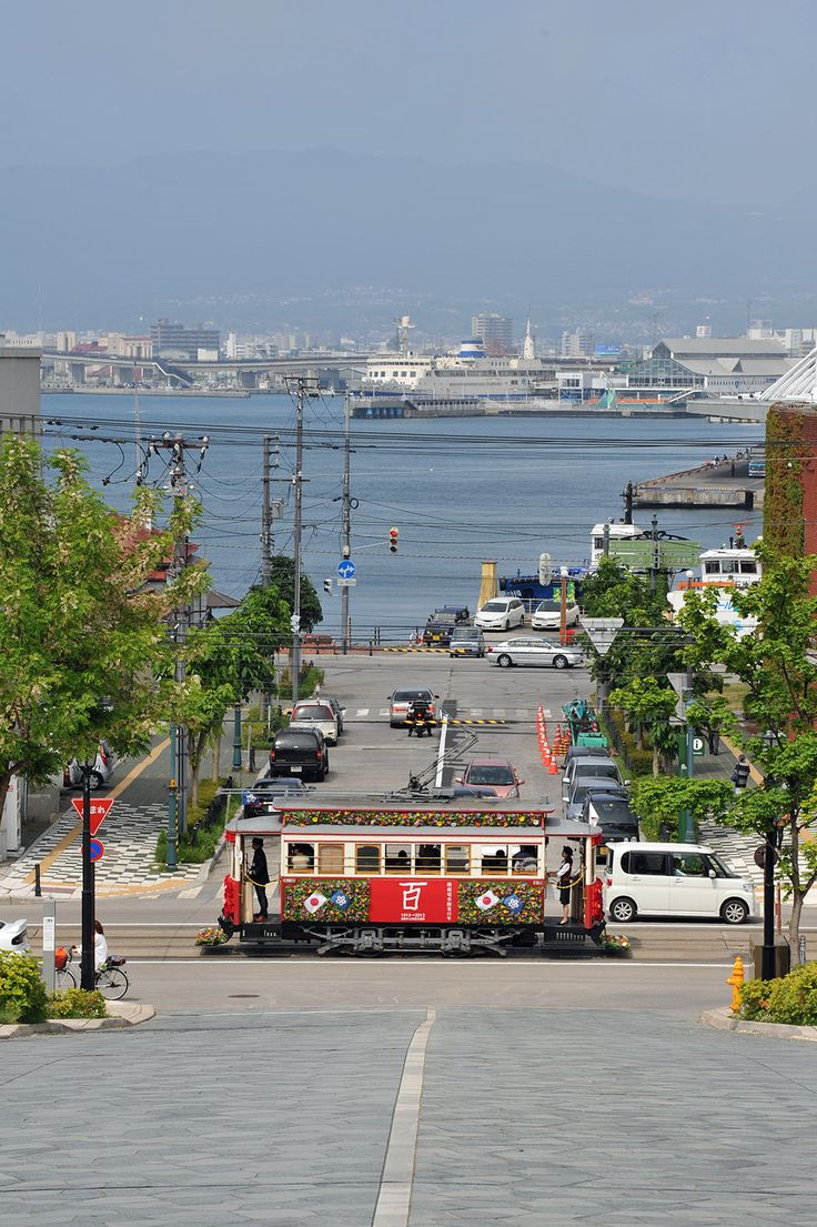 Hakodate City Tram, Hokkaido, Japan
