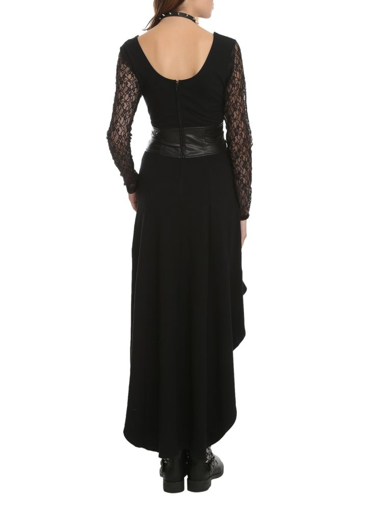 Royal Bones By Tripp Black Lace Sleeve Salem DressRoyal Bones By Tripp  Black Lace Sleeve Salem Dress e5dfefeee34d