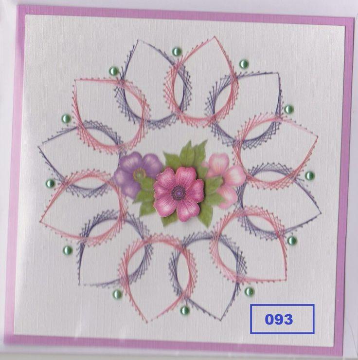 227 Best Borduren Op Papier Images On Pinterest Cards Paper