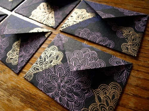 Make your own fun and fabulous envelopes. This would be great for invitations, gift cards, thank you notes, etc.