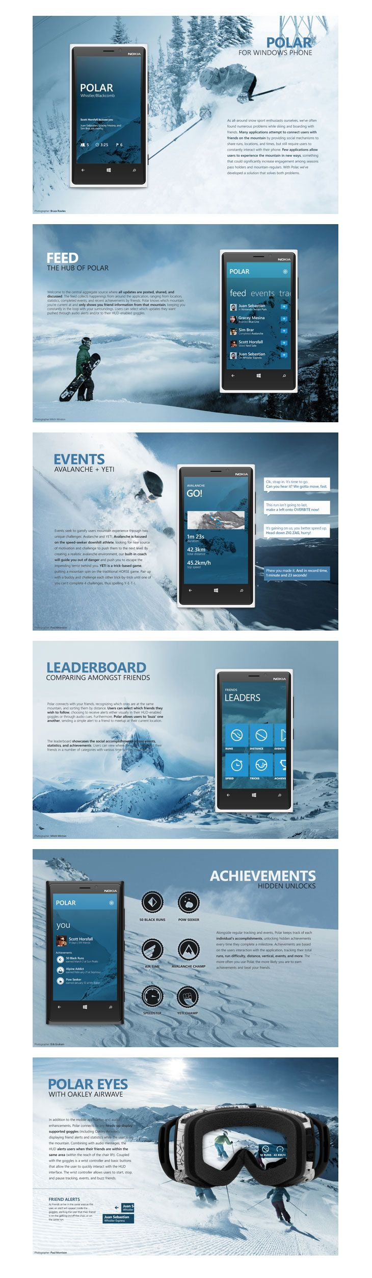 Good use of iconography. The blue shift provides a nice focus and aids readability. Polar UI Design http://www.techirsh.com