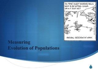 hardy-weinberg-populations by Jenny Klemme via Slideshare