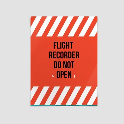 Flight Recorder - Poster