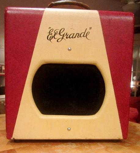 supro valco el grande amp amplifier vintage w cover ebay amps and pedals pinterest. Black Bedroom Furniture Sets. Home Design Ideas