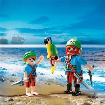 Playmobil Duo Pack Πειρατές (5164) 4,99