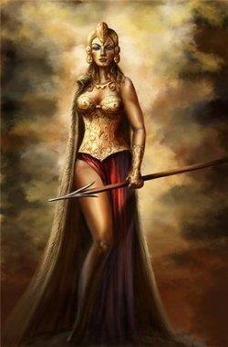 Древнегреческая богиня афина войны костюм