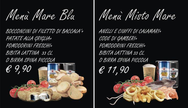 Menù Mare Blu - Menu Misto Mare   .. vieni a trovarci da Frixium Italia a Firenze